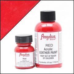 Angelus Leather Paint Red