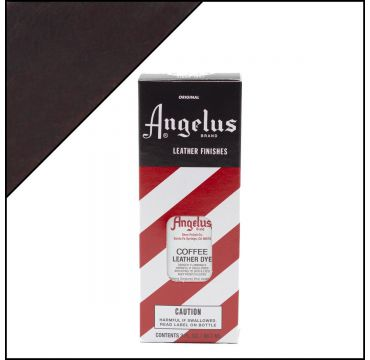 Angelus Leather Dye Coffee 3oz