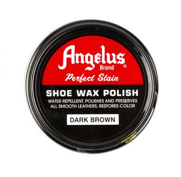 Angelus Shoe Wax Polish Dark Brown