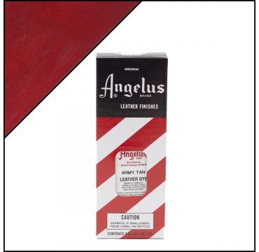 Angelus Leather Dye Army Tan 3oz