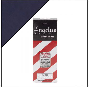 Angelus Leather Dye Navy Blue 3oz