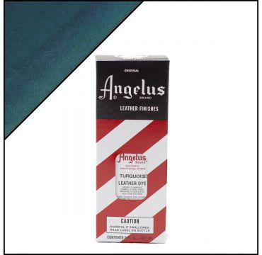 Angelus Leather Dye Turquoise 3oz