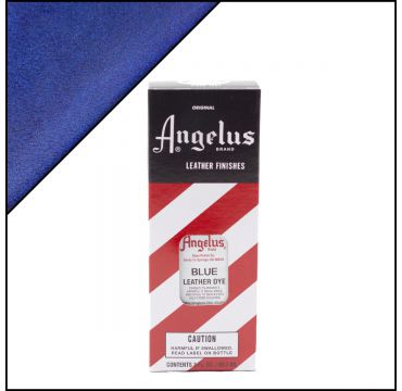 Angelus Leather Dye Blue 3oz