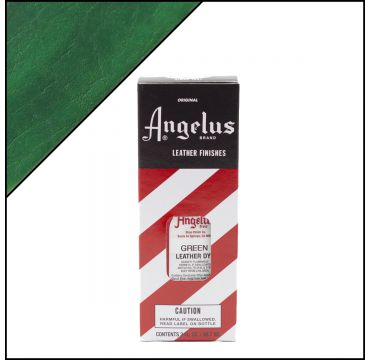 Angelus Leather Dye Green 3oz
