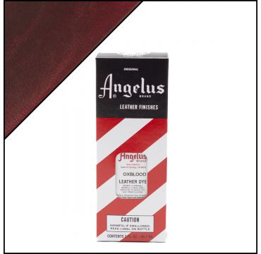 Angelus Leather Dye Oxblood 3oz