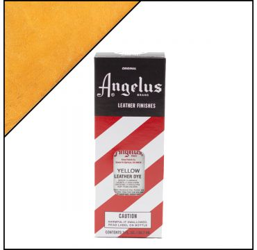 Angelus Leather Dye Yellow 3oz