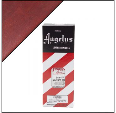 Angelus Leather Dye Brandy 3oz