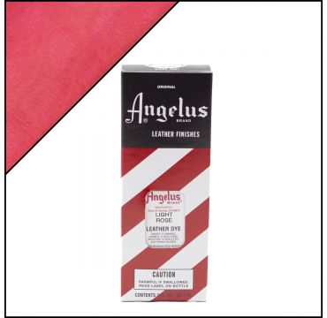 Angelus Leather Dye Hell Rose 3oz