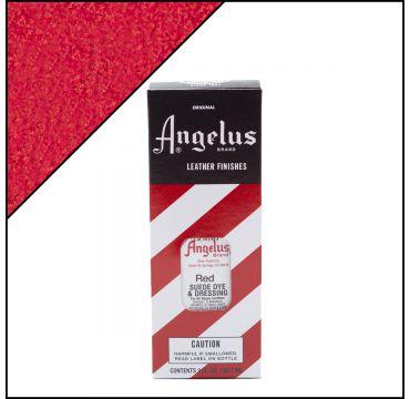 Angelus Suede Dye Red 3oz