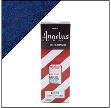 Angelus Suede Dye Navy Blue 3oz