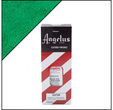Angelus Suede Dye Green 3oz
