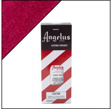 Angelus Suede Dye Dark Red 3oz