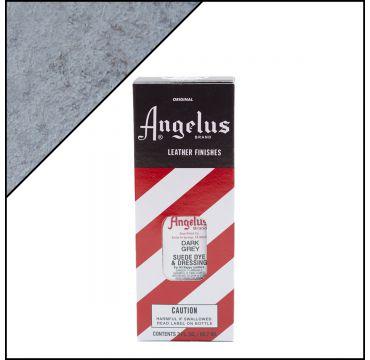 Angelus Suede Dye Dark Grey 3oz