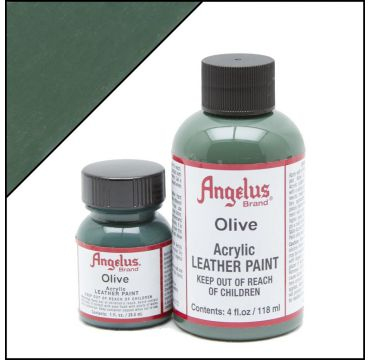 Angelus Leather Paint Olive Green