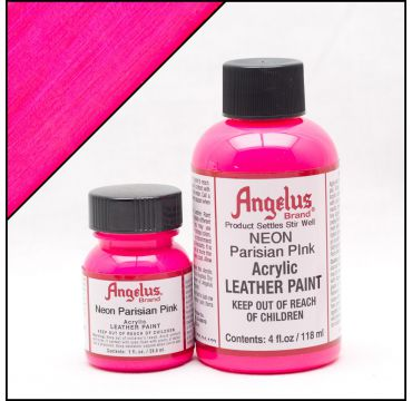 Angelus Leather Paint Parisian Pink