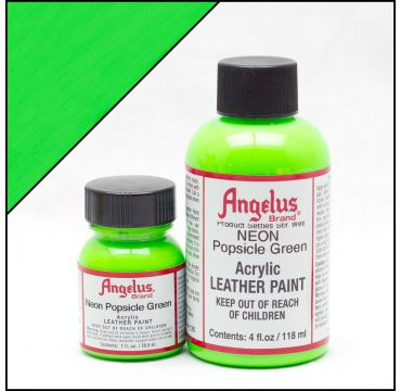 Angelus Leather Paint Popsicle Green