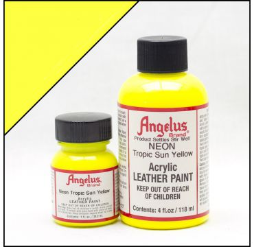 Angelus Leather Paint Tropical Sun Yellow
