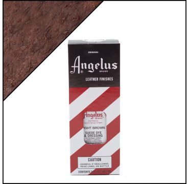 Angelus Suede Dye Light Brown 3oz