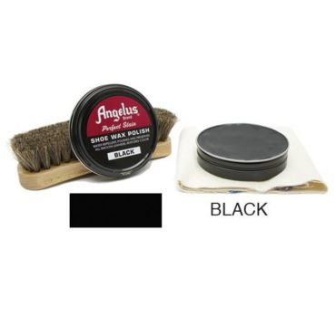 Angelus Shoe Wax Polish Black